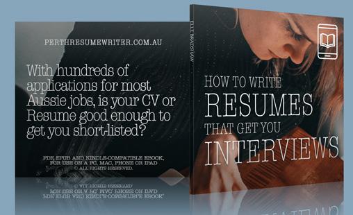 resumes and cvs